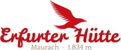 Schankanlage Erfurter Hütte Logo